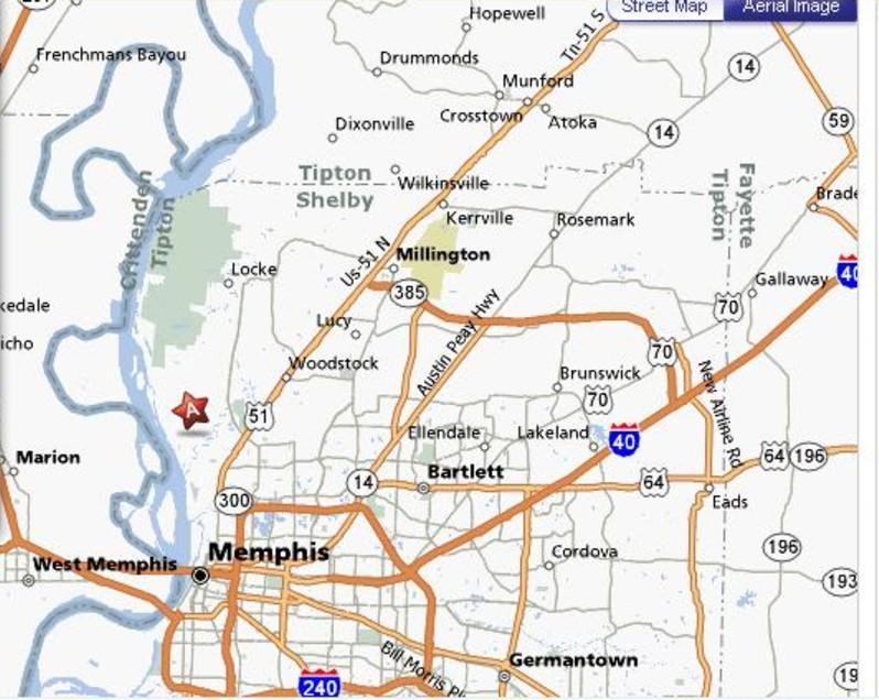 Zip Code Map of Memphis tn Map of Memphis tn And